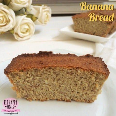 Fit Happy Meals: Banana Bread