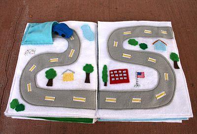 fun road and car storage