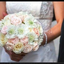 romantyczny bukiet ślubny 2
