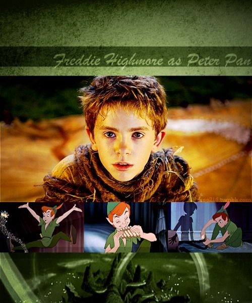 |Disney Dreamcast: Peter Pan| Freddie Highmore as Peter Pan from Peter Pan