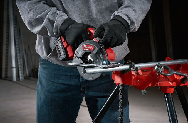 Milwaukee M18 Fuel Metal-Cutting Circular Saw  You can crank up the radio but the new Milwaukee M18 Fuel Metal-Cutting Circular Saw with 30T carbide-tipped blade will still cut right through that metal!  #milwaukeetool #metal #metalcutting #circularsaw #powertools #saw  https://www.protoolreviews.com/tools/power/cordless/saws-cordless/milwaukee-m18-fuel-metal-cutting-circular-saw/29569/