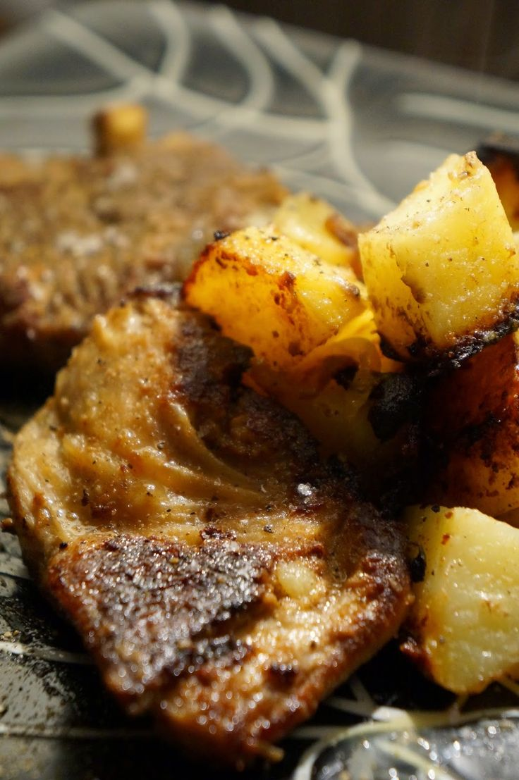 agnello marinato alla senape e patate in Tajine