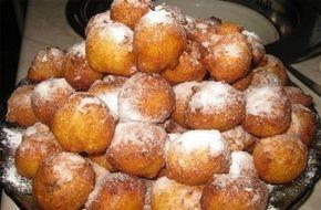Túrós vaníliás fánkocskák, 20 perc alatt elkészíthető, nem kell keleszteni!
