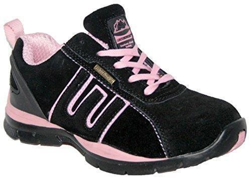 Oferta: 35.92€. Comprar Ofertas de Zapatillas de seguridad para mujer, acero en la punta de los dedos, con cordones, ligeras, color multicolor, talla 40 barato. ¡Mira las ofertas!