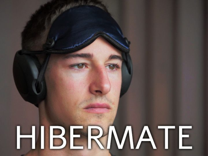 The Hibermate Sleep Mask with Removable Ear Muffs for Sleeping - I want this when it comes available in October 2013
