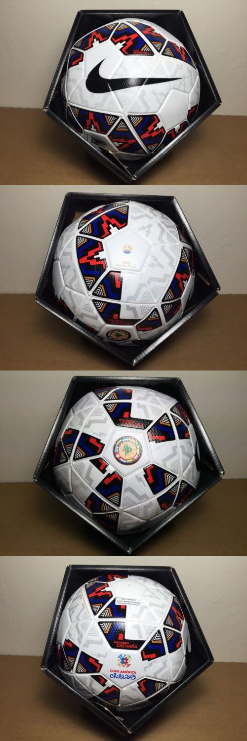 Balls 20863: Nike Ordem 2 Cachana Copa America Chile 2015 Match Soccer Ball Sz 5 (Psc478-190) -> BUY IT NOW ONLY: $54.99 on eBay!