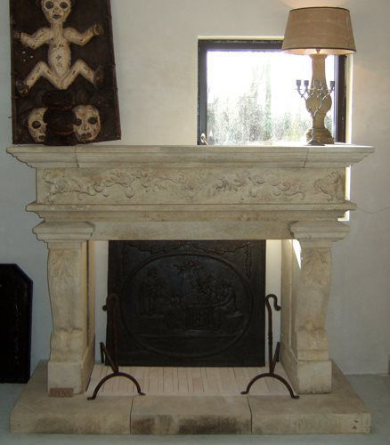 Over the past 15 years, PORTALAIS has commissioned the building of many stone fireplaces, mantels, fountains, staircases and other custom stone elements. Our craftsmen in France and Spain are experts in the cutting and carving of special projects for our clients in Limestone or Marble.