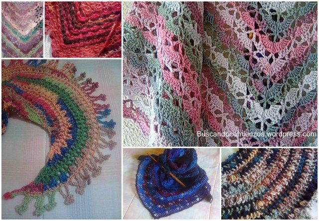 63 best Shawl images on Pinterest | Cowl, Crochet scarfs and Crochet ...