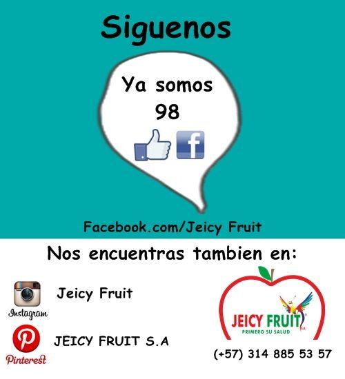 Invita a todos tus amigos a que hagan parte de nuestra empresa. JEICY fRUIT S.A