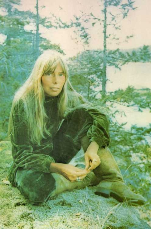 Joni Mitchell, 1972.