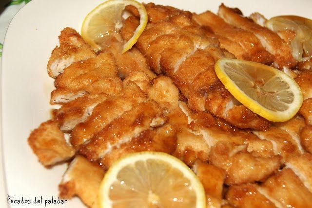 ¿Quién no ha comido alguna vez pollo al limón en un restaurante chino?  Esta receta siempre me ha encantado y hace tiempo pensaba que ...