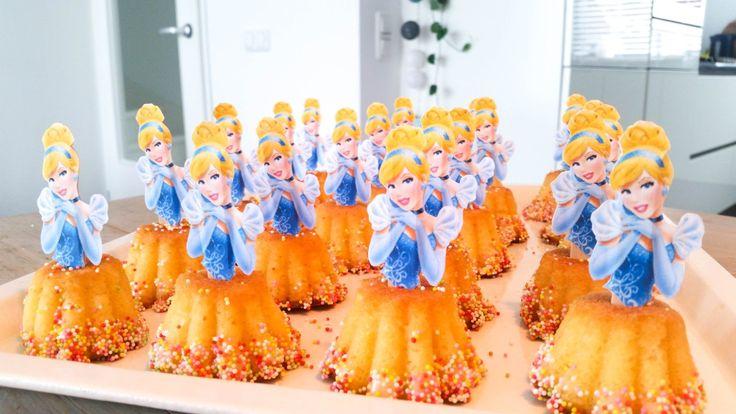traktatie | prinsessen cupcakes