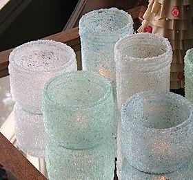 Epsom salt votives