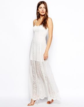 ASOS Lace Maxi Dress