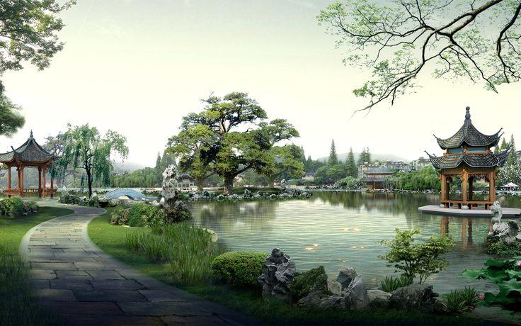 China Digital Landscape 28 - Japan Photography Desktop Wallpapers ...