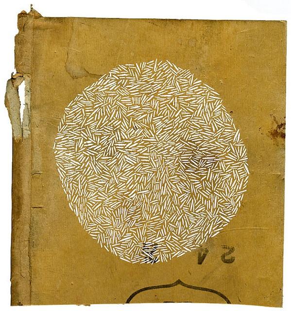 gouache on cardboard - Olivia Jeffries