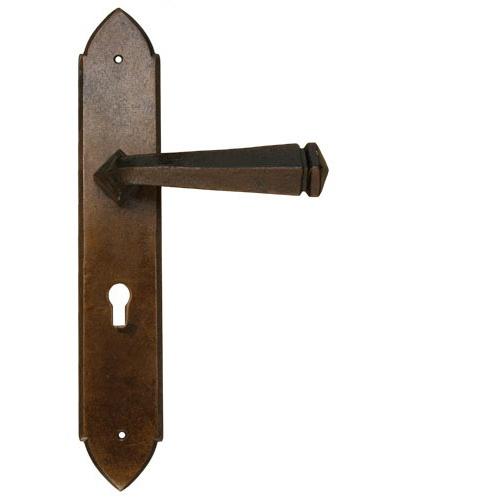 Bronze Blacksmith Gothic Lever Door Handle  sc 1 st  Pinterest & 12 best Door Handles Bronze images on Pinterest | Lever door ... pezcame.com
