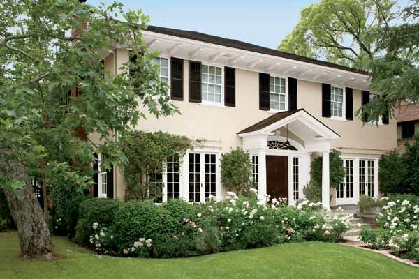 Paint color ideas for colonial revival houses colonial for Colonial exterior paint colors
