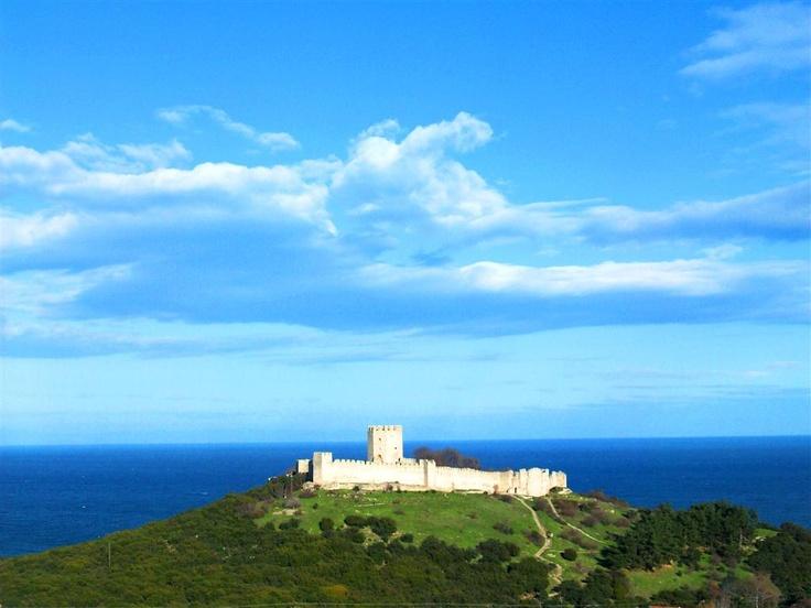 the castle of Platamon,greece