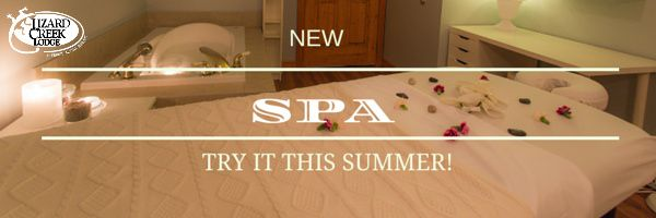 Ahhhhhh...some! The Day Spa at Lizard Creek Lodge is a full service treatment spa, offering sports massage, aromatherapy massage, facials, manicures, pedicures and purifying body scrubs & wraps!  Pamper yourself and book your treatment today - phone 250-423-5057 ext. 1014 or email thespa@lizardcreek.com.  For full details, visit