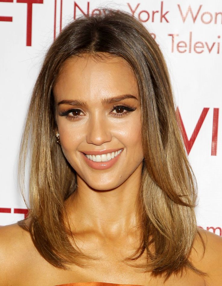 La coloration bronde de Jessica Alba