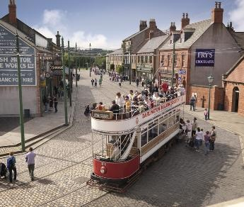 Beamish Museum. Co. Durham, N. England.