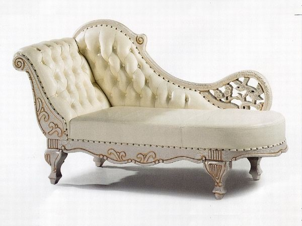 Chaise Lounge Victorian Style Chairs Антикварная