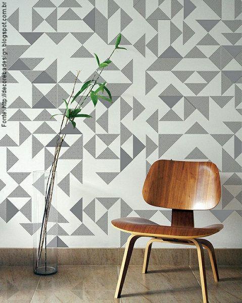 textura papel de parede geometrico - Pesquisa Google