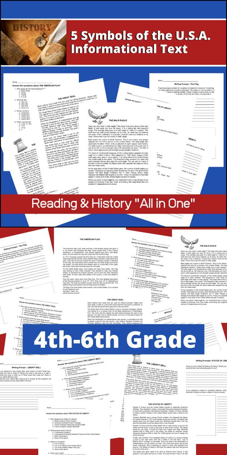 This resource, Symbols of the U.S.A. - U.S. History ...