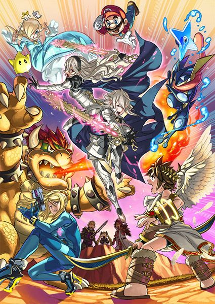 Super Smash Bros. - Corrin from Fire Emblem Fates confirmed by Yusuke Kozaki
