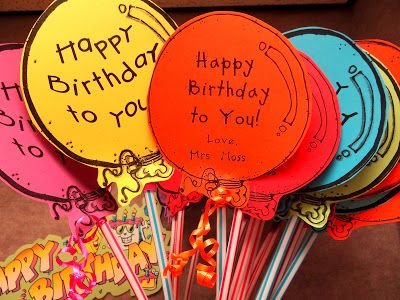 PATTIES CLASSROOM: What are YOUR Birthday Gift Ideas for Students?