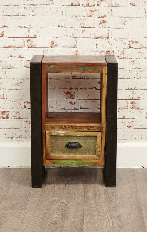 Urban Chic Lamp Table Bedside Cabinet