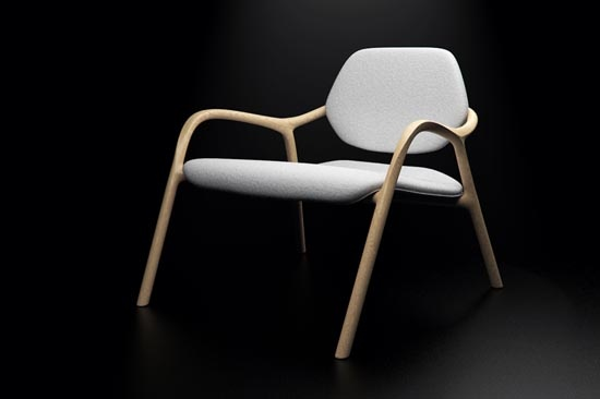 Modern Wooden Chair With Minimalist Style Called Chaise En Bois: Style Call, Minimalist Style, Style Modern Scandinavian