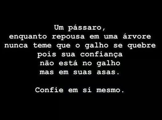 #motivacao #confianca