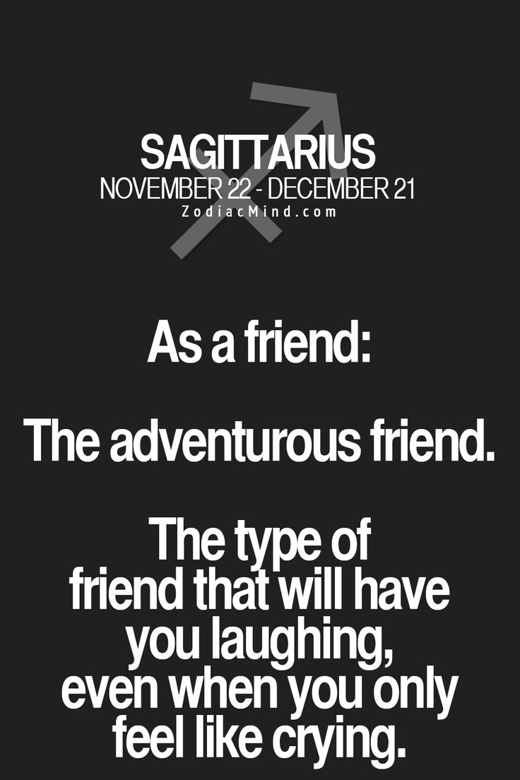 What kind of a friend each Zodiac sign is here