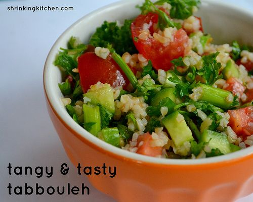 Tangy and light, this tabbouleh will become a staple in your fridge! Whip up a double (or triple) batch and keep it on hand for an easy lunch or side dish!