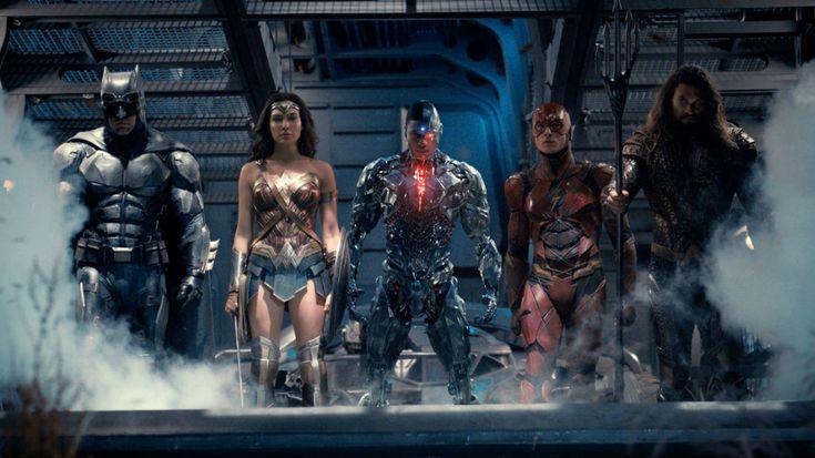 The Less-Famous Heroes in the Justice League Trailer #ComicsBooks #MoviesTV #aquaman #batman #cyborg