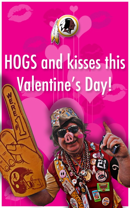 HOGS and kisses this Valentine's Day!