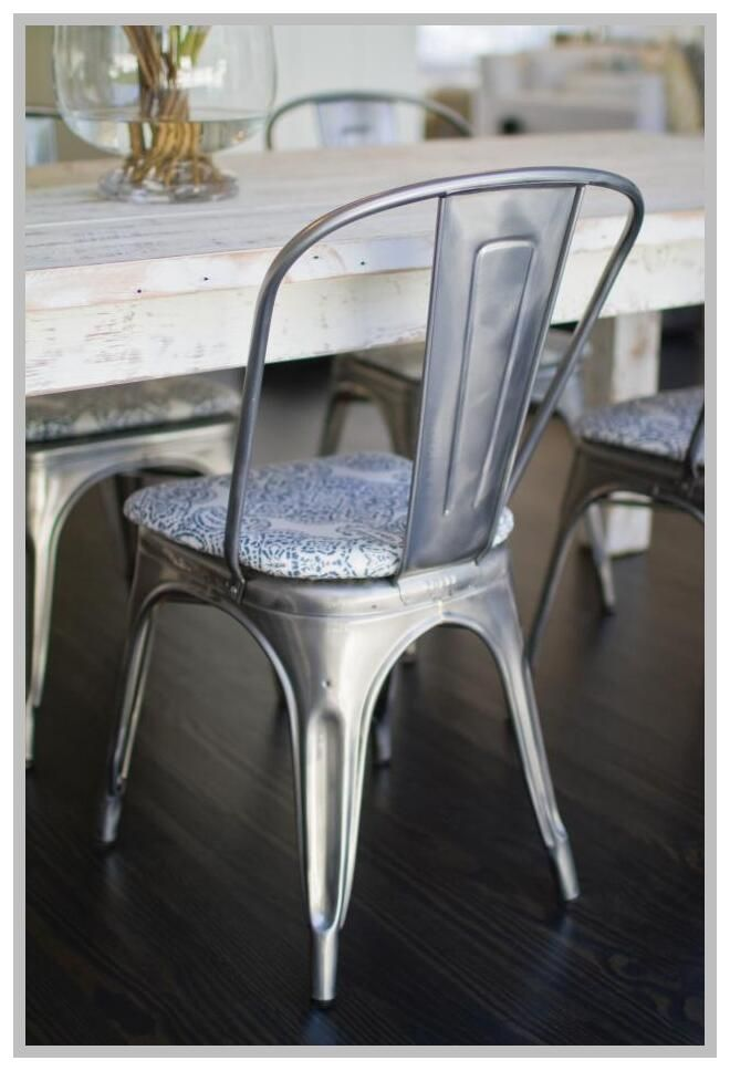 103 Reference Of Metal Farmhouse Chair Cushions In 2020 Metal Farmhouse Chairs Metal Chairs Farmhouse Chairs