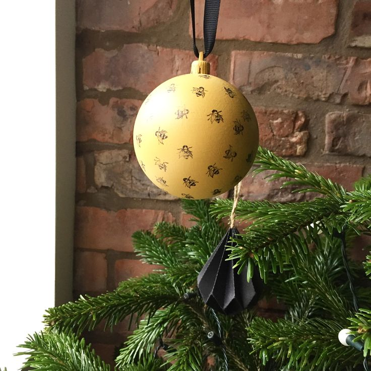 Our Manchester Bee Christmas Decoration