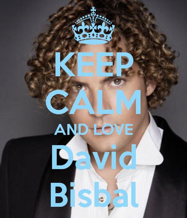 Keep calm and love David Bisbal