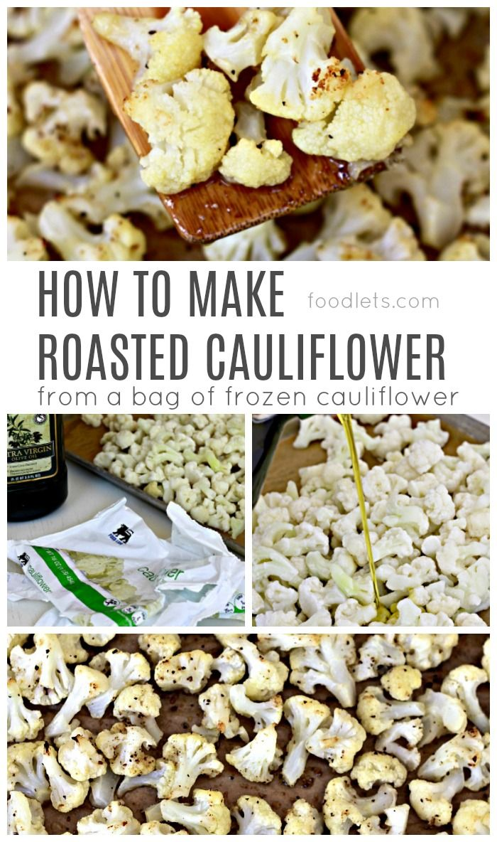 The unicorn of veggies: roasted cauliflower is the one veggie no kid (or adult) can resist!