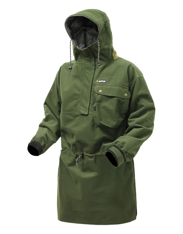 The Swazi® Tahr Anorak is one of our oldest designs and is as relevant today as the day the first one came off the line. Proven time and time again in the field the Tahr has some great features that have made it the timeless classic that it has become.  Made in New Zealand from a three-layer AEGIS® fabric, it's soft, light, very quiet and of course very waterproof.   The hood makes an adjustable peak, stiffened with both a durable liner and a hood wire to enable excellent peripheral…
