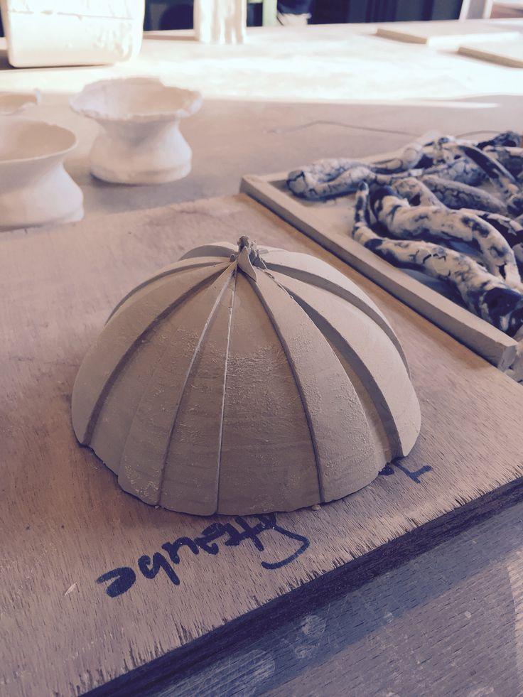 Schaal - Gietmal diverse segmenten. - Ceramics