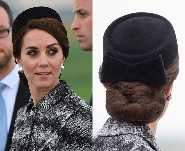 Thou shalt keep thy hair together with a hairnet  Having her immaculately styled up-dos unravel while she's out and about wouldn't be very royal, meaning that Kate usually has her buns or braids wrapped in a fine, almost invisible, hairnet to keep everything in place. Sneaky.
