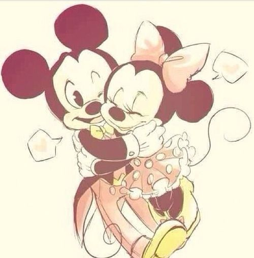 Minni mouse and Micky mouse