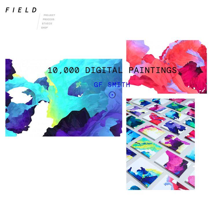 FIELD.io – digital art studio in London, UK