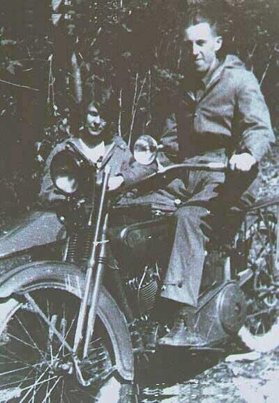 Bill and Lois, Motorcycle trip.  Alcoholics Anonymous AA history and archives. AA is an important part of a complete addiction treatment program. Holistic, private pay, 12 step, executive, and located in beautiful Panama. Serenity Vista Click here: www.serenityvista.com