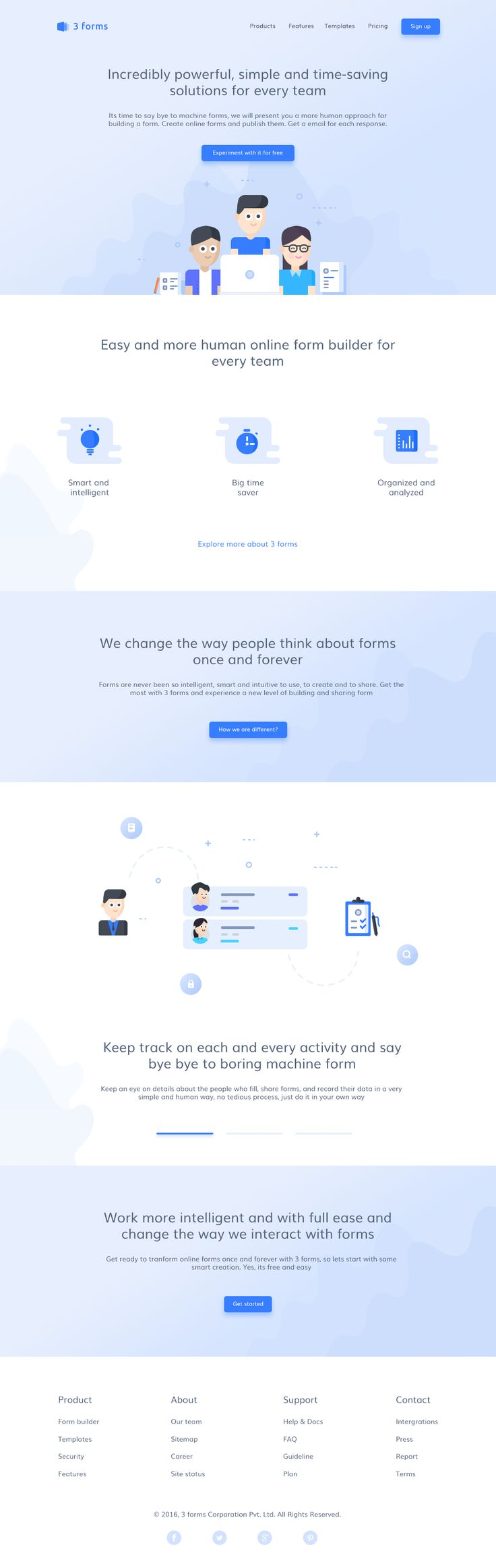 3 forms web