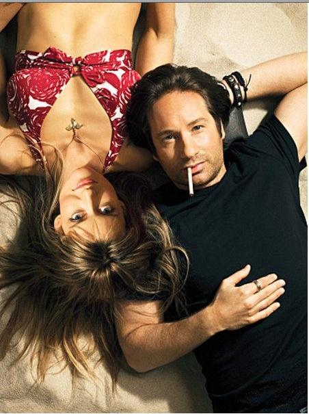 """Californication's"" - Karen & Hank (Natascha McElhone & David Duchovny)"